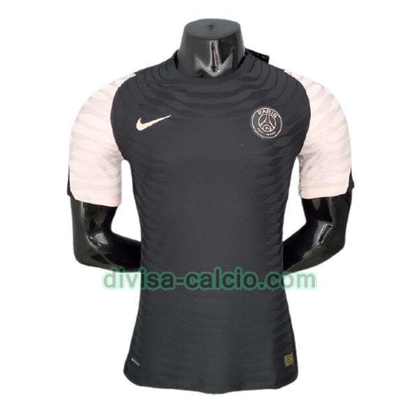 Divisa calcio: formazione uomo player version psg 2021 2022 nero ...