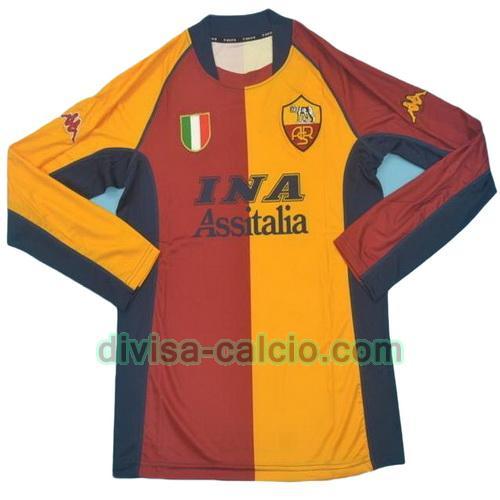 Divisa Calcio: Maglie As Roma 2000-2001 Poco Prezzo