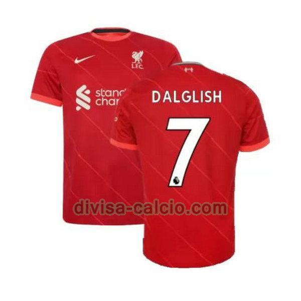 Divisa calcio: maglia uomo prima liverpool 2021 2022 dalglish 7 ...