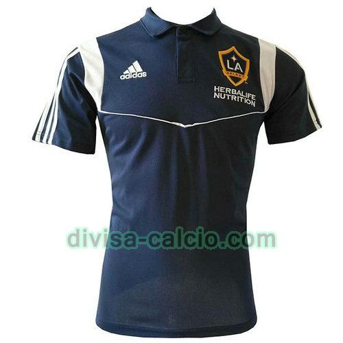 maglietta polo uomo los angeles galaxy 2019-2020 blu marina